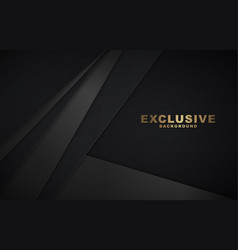 Dark abstract background with luxurious vector