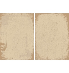 Distressed paper background vector image vector image