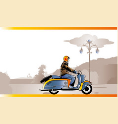 Scooterdriver vector