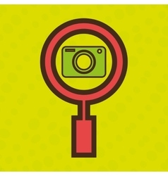 symbol camera photograph images vector image