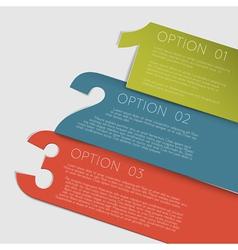 Paper Progress vector image vector image
