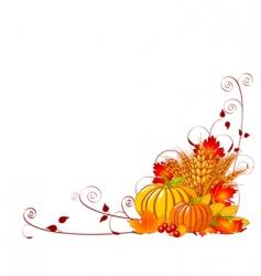 bountiful harvest vector image