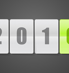 Diary with digits Happy new 2016 year vector image vector image