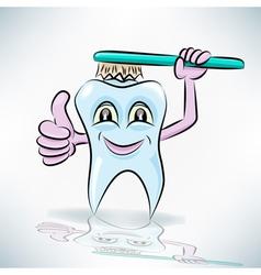 Healthy teeth vector image vector image