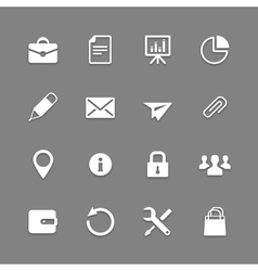 Icon set for Web and Mobile vector image vector image