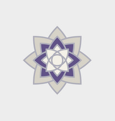 An isolated element of the ethnic ornament vector