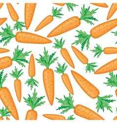 Carrots pattern vector