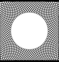 circle 3d frame vector image