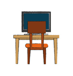 furniture icon image vector image