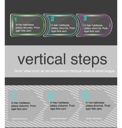 horizontal steps vector image