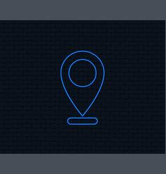 Internet mark icon navigation pointer symbol vector