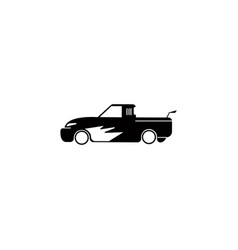 pickup truck icon element of popular car icon vector image