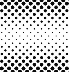 Abstract black and white curved octagon pattern vector
