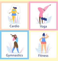 attractive overweight women healthy lifestyle vector image
