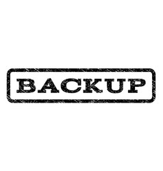 Backup watermark stamp vector