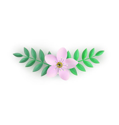 floral composition for vector image