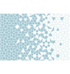 Islamic iranian pattern border texture vector