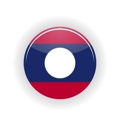 Laos icon circle vector