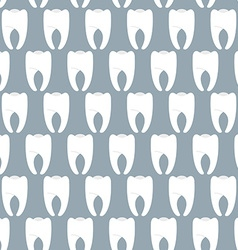 White clean teeth seamless pattern Vetkornyj vector image vector image