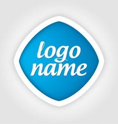 universal template logo vector image vector image