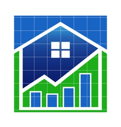 House Value market vector image vector image