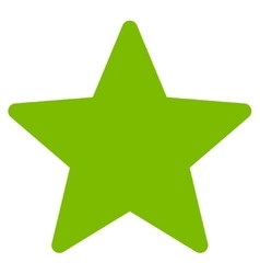 Star icon from Competition Success Bicolor Icon vector image
