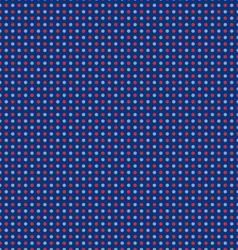 Seamless nautical polka dots vector