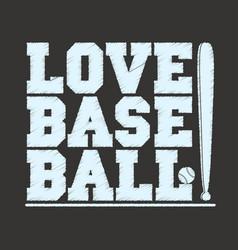 baseball sportswear emblem t-shirt vector image