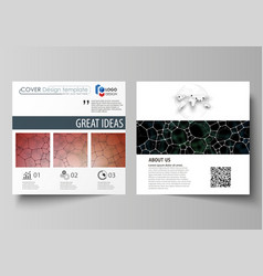 Chemistry pattern molecular texture polygonal vector