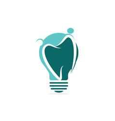 Family dental medical clinic logo design vector