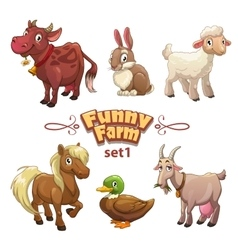 Funny farm vector