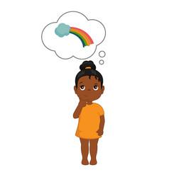 kids imagination vector image