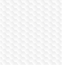 Subtle geometrical white seamless pattern vector image
