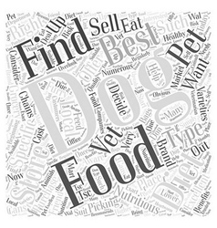 Where to Find the Best Food for a Nutritious Dog vector