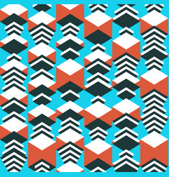 geometric seamless pattern abstract background vector image vector image