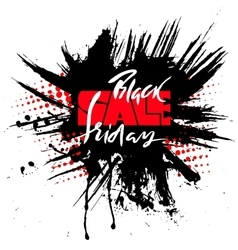 Black Friday Sale for your vector image