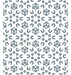 Geometric abstract monochrome mosaic seamless vector