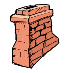 chimney vector image