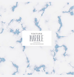 Stylish blue soft marble texture background vector
