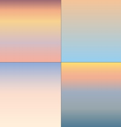 Sunsets vector