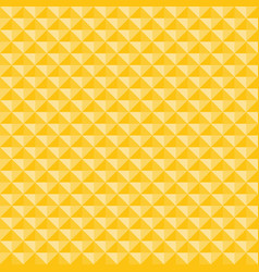 Yellow geometric triangles pattern seamless vector
