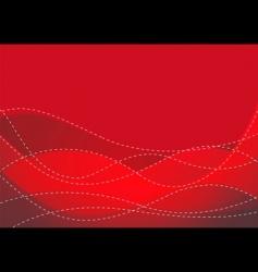 smooth maroon wave vector image vector image