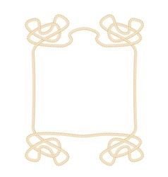 Rope Frame vector image