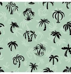 Palms Travel Pattern vector image