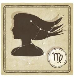 astrological sign - virgo vector image