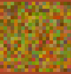 background art colored green squares mosaic vector image