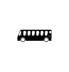 bus icon element of popular car icon premium vector image