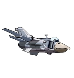 Cartoon Jetbird 3 vector