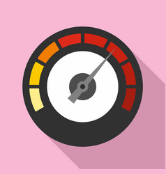 Dashboard icon flat style vector