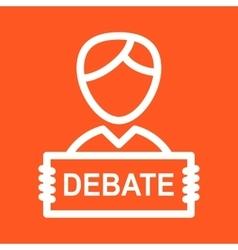 Debate vector